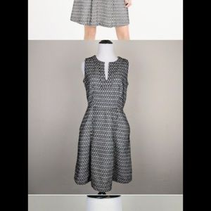 J Crew Contrast Eyelet Dress (it has pockets 😊)